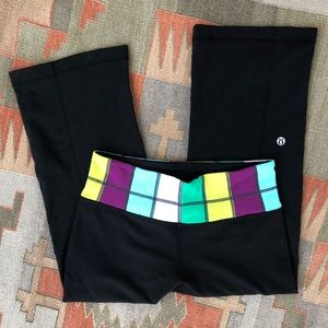 Lululemon Groove Quilted Crops